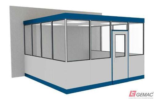 Hallenbüro Indoor Line 3-seitig