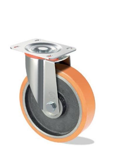 Polyurethan-Rad mit Gusseisenkern