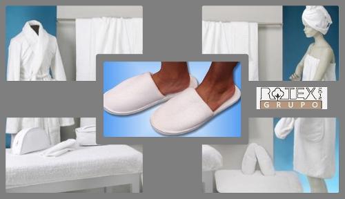 Zapatillas de rizo para estetica y belleza