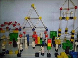 Детские конструкторы из дерева