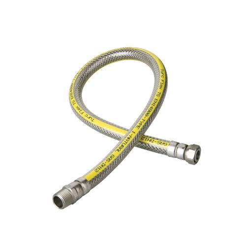 Tubi flessibili metallici per gas