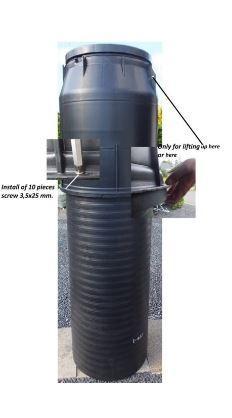 HEIGHT WATER METER BOX