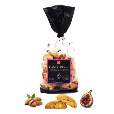Canistrelli Aux Amandes Entières Et Aux Figues - Biscuits Corses Cursighella