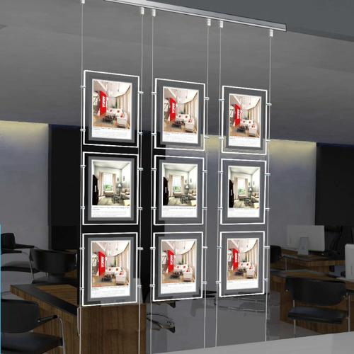 Magnetic Front Panel Window Lightbox Display