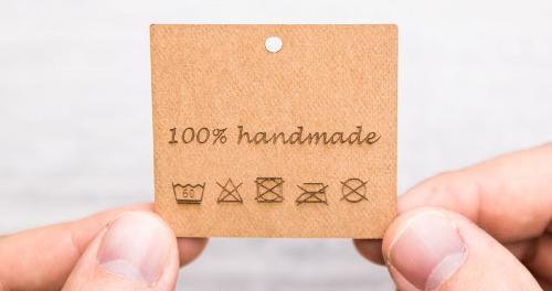 Etichette in FloraPap incise al laser