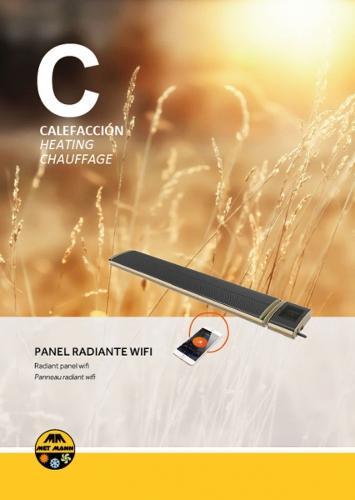 Calefacción eléctrica paneles radiantes - INFRA MANN WIFI