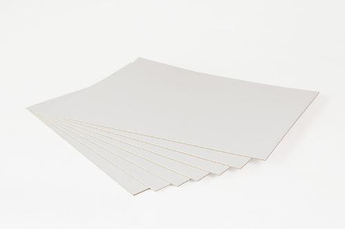 Binding Cardboard White Two-sided
