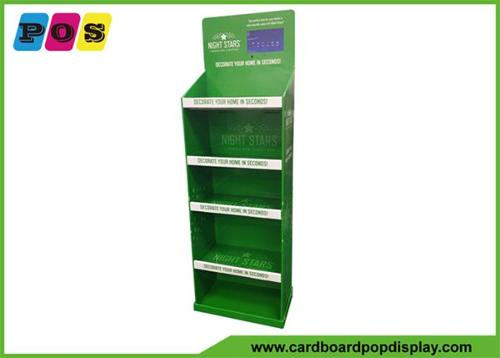 Corrugated paperboard POP Display Shelf