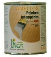 Peinture huile de lin intempéries Amellos de Livos