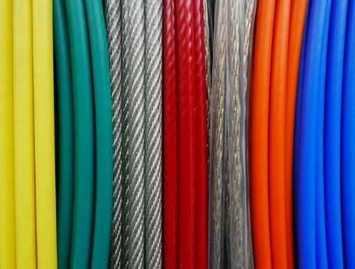 Plastic Coated Steel Wire Ropes