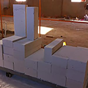 Lichtgewicht Beton en Machine