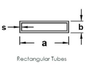 Rectangular Tubes (Any Surface)