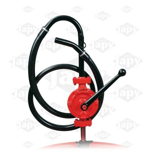 Semi-Rotary Manual Pumps Equipped With A Flexible Pvc Hose