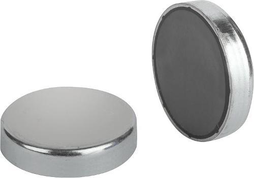 Магниты (опора плоская) магнитотвердый феррит