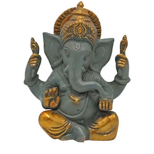Buddha and Hinduistic statues