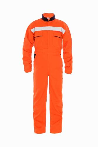 No Limit Cotton Work-wear Coverall, details reflective tape