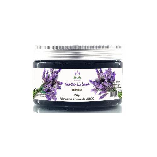 Savon Noir Artisanal À La Lavande (savon Beldi) 100 Gr