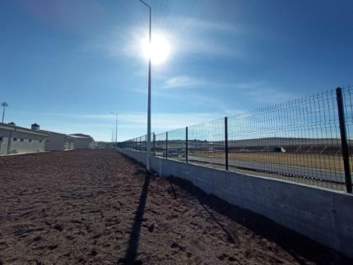 METAL WIRE PANEL FENCE