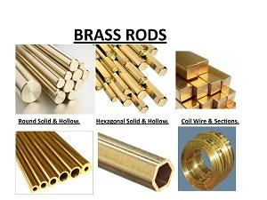 Brass & Copper Extrusion Rods & Bars