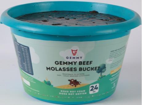 Gemmy Beef Molasses Bucket