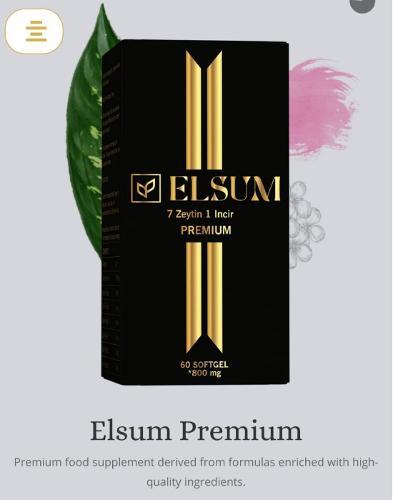 Elsum Premium by 7 zeytin 1 incir