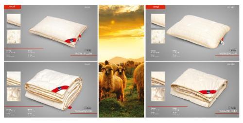 %100 Naturel Wool Pillow