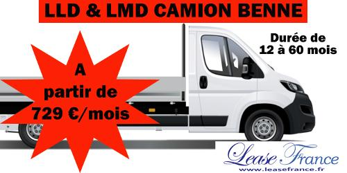 LLD & LMD Camion Benne Peugeot Boxer NEUF