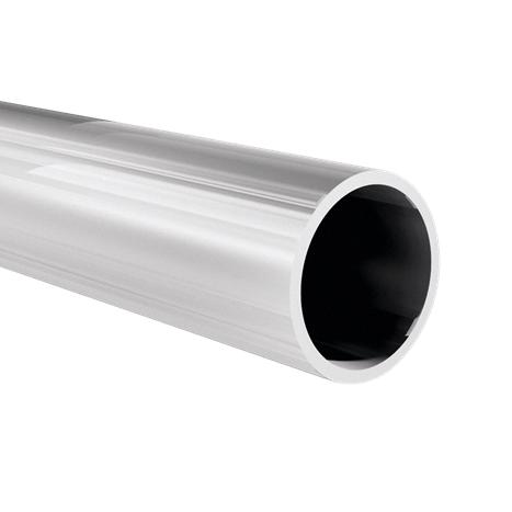 Round tube Ø 30x2 mm, anodized