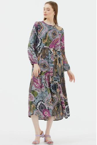 Wide - Fit Patterned Dress