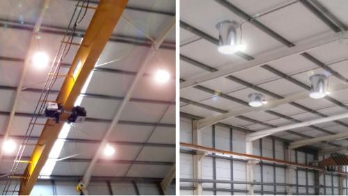Iluminação LED Industrial Chatron -  dimerização inteligente