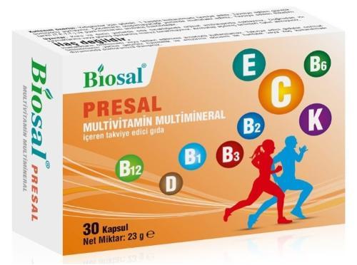 Biosal Presal 30 Capsules