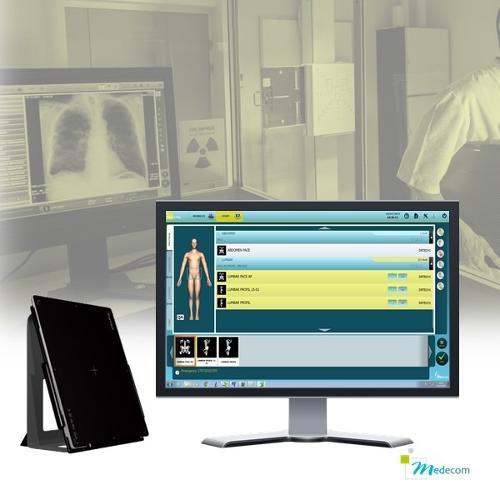Med XRay - Capteur plan & Console d'acquisition