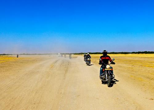 Voyages moto en Inde