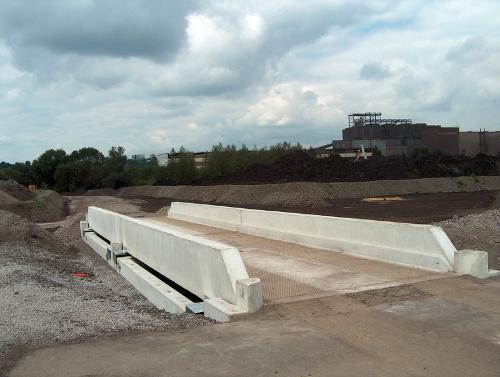 Pont bascule camion hors sol Modulaire