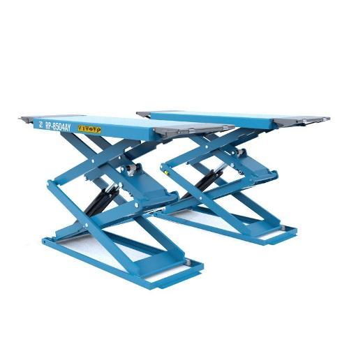 RP-Tools Pont à ciseaux prise sous coque posé au sol