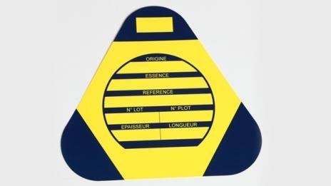 Étiquette PVC/Plastique