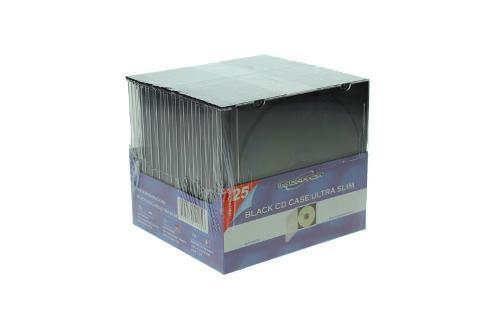 CD Slimcase 25er Pack - MPI - schwarz