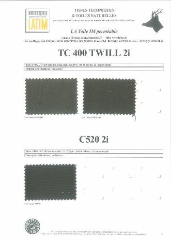 TC 400 TWILL 2i & C50 2i