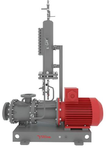 Centrifugal Canned Pump Units With Combined Seals