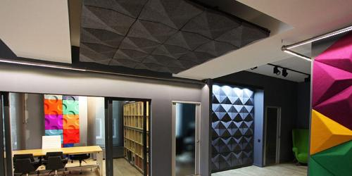Tron Acoustic Felt Panel