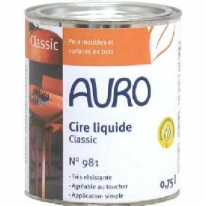 Cire liquide AURO n° 981