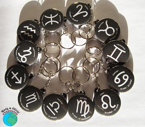 Astro/Zodiac Keychains