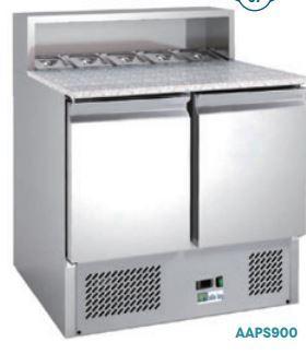 Meubles pizzas réfrigérés ECO
