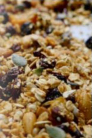 Mélange de graines et fruits à coques