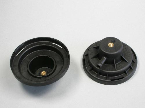 Plastic parts for ventilation systems