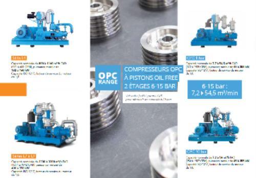 Compresseurs PET à piston 20-40 bar