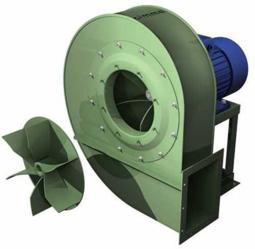 Gbx - Ventilateur Haute Pression Type Gbx - Transmission Directe