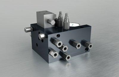 Hydraulikblock