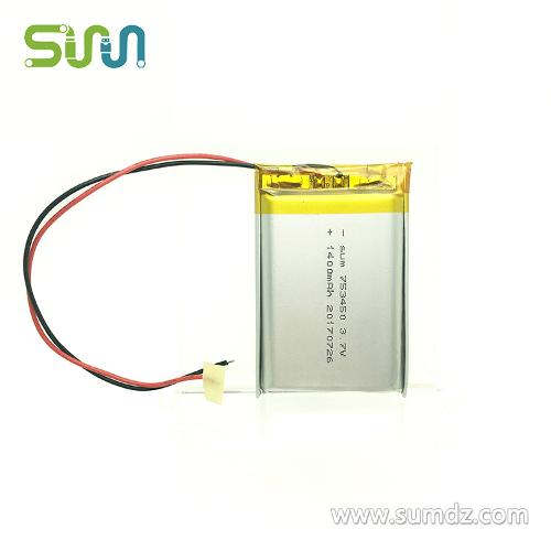 753450 Li Polymer Battery For Electric Toys