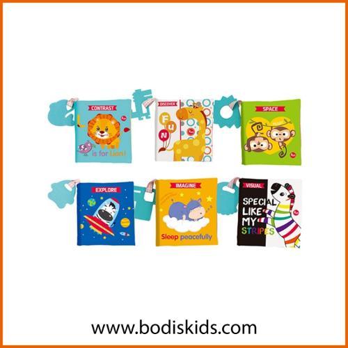 Soft Baby book Fabric Material  Cloth Book Set
